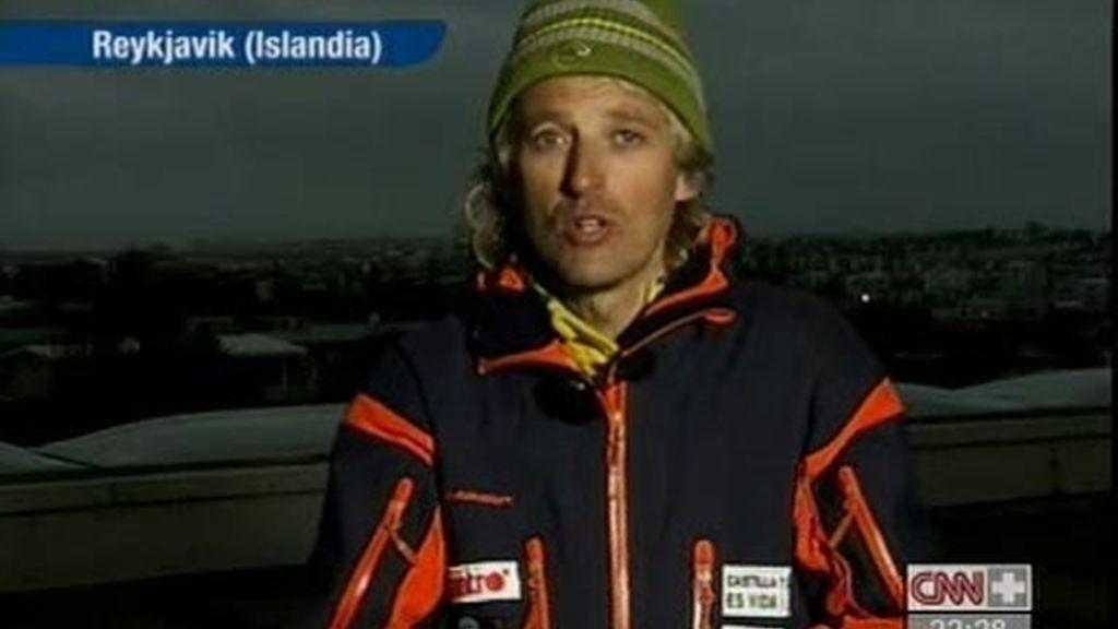 Jesús Calleja nos cuenta su experiencia tras la erupción del volcán en Islandia