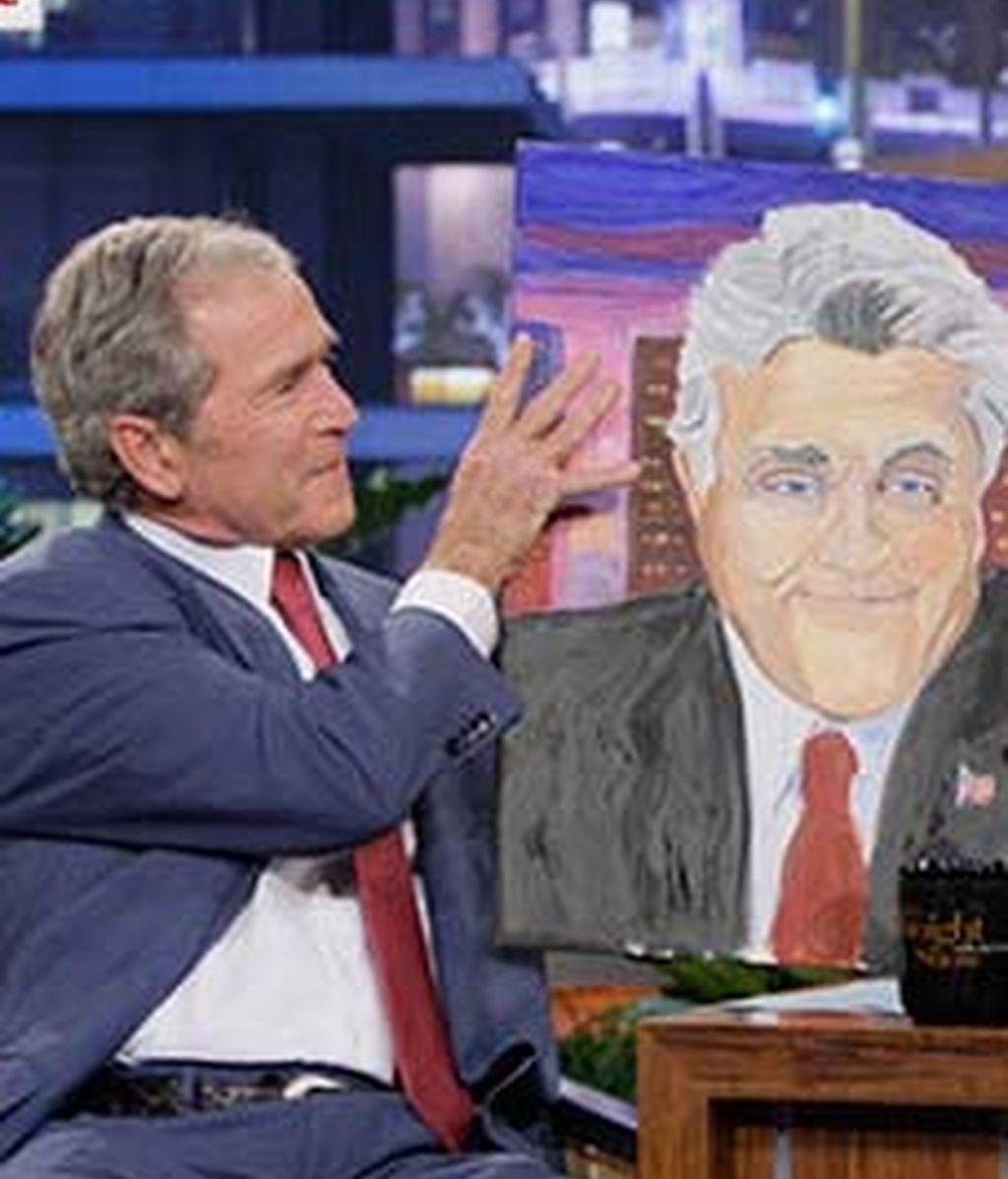 El lado más pictórico de Bush