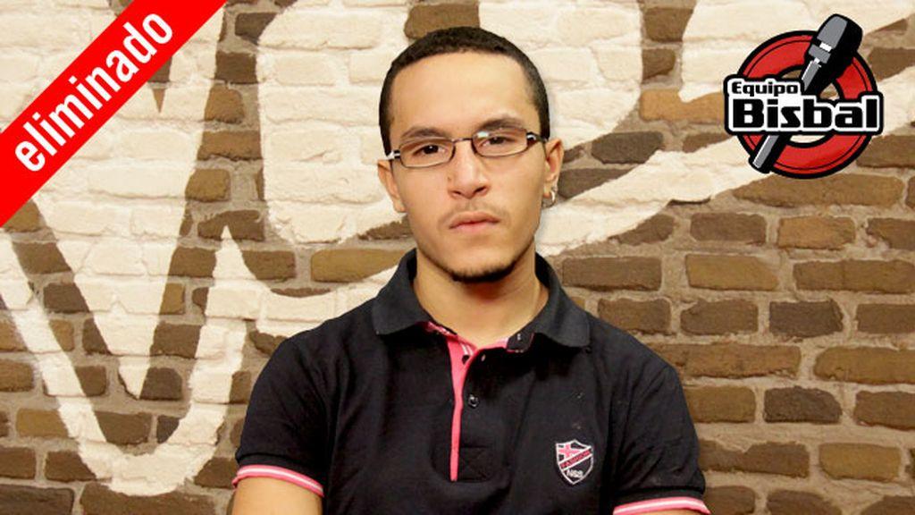 Alejandro Udó, 19 años, equipo Orozco | Robado por Bisbal | Eliminado