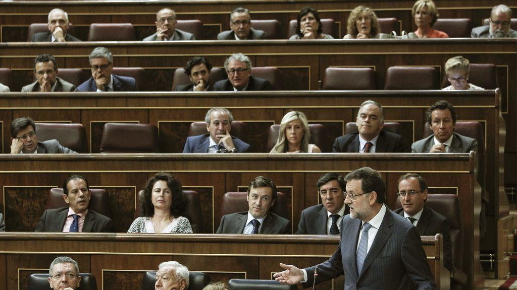 Congreso, Ley de Transparencia,PSOE,PP, CiU,Senado,Camara Baja, PNV