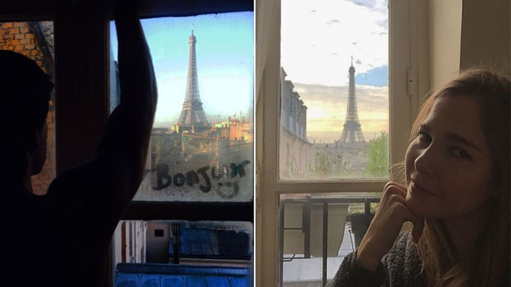 Marc Clotet y Natalia Sanchez en Paris