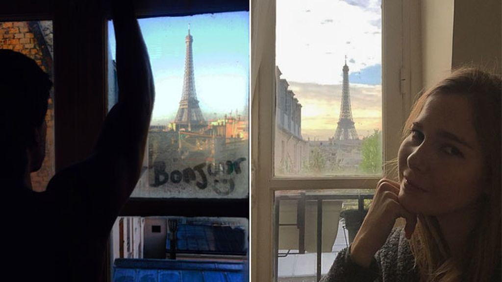 Marc Clotet y Natalia Sanchez en Paris