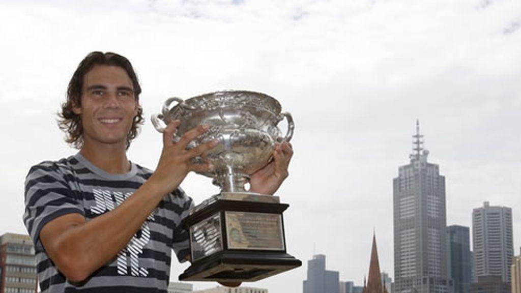 Rafa Nadal conquistó Melbourne