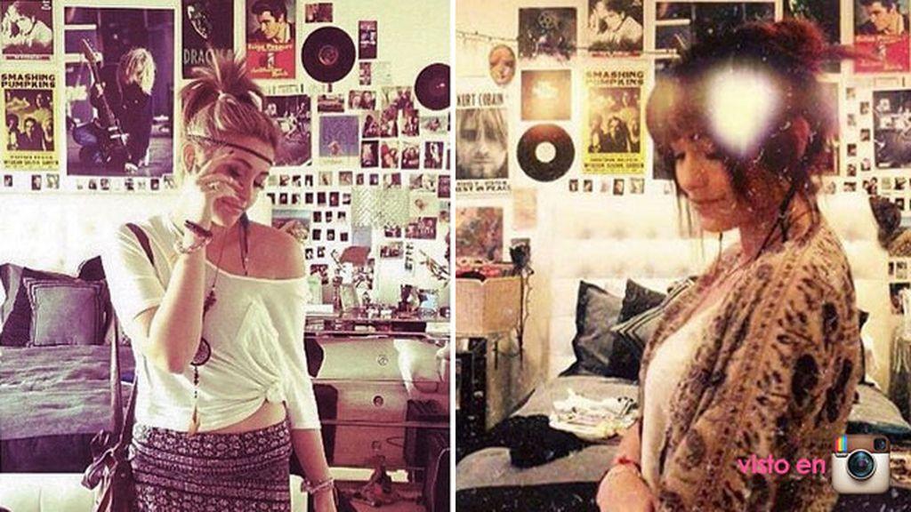 Melómana emperdernida, como podemos ver en las fotos de su cuarto