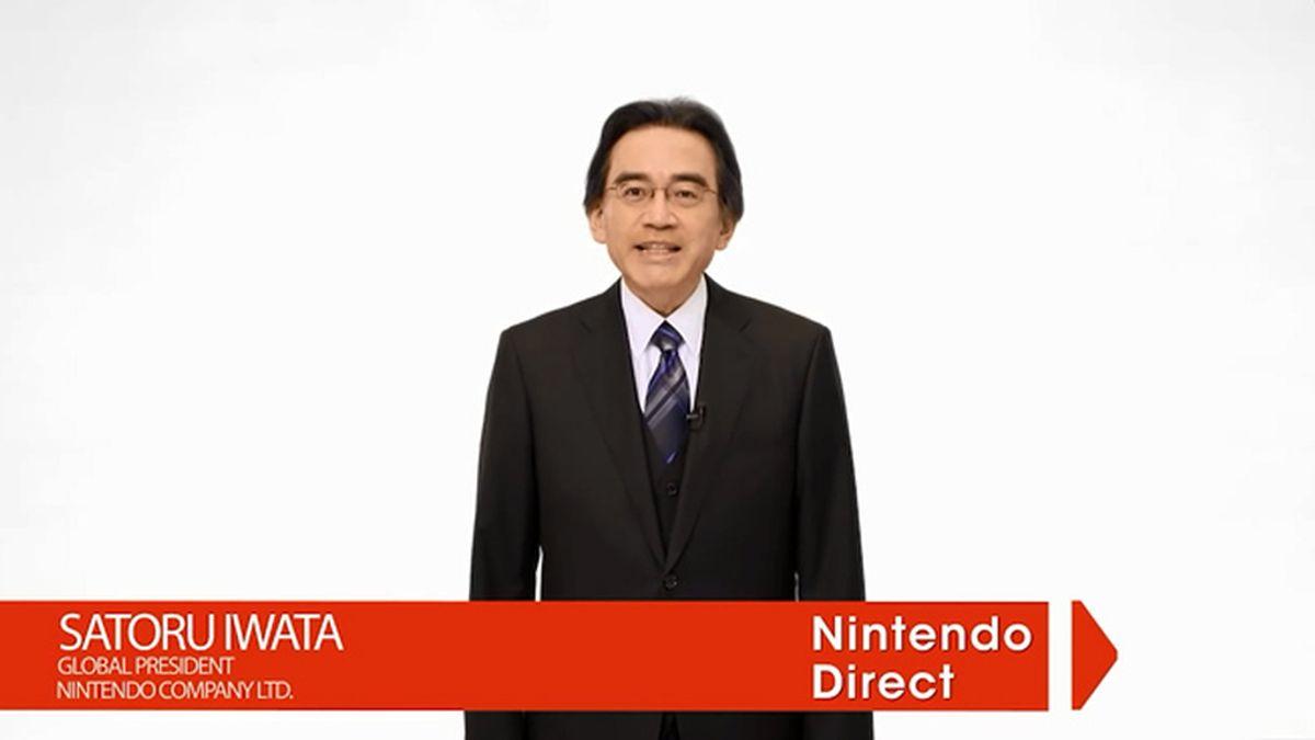 Nintendo Direct, Satoru Iwata, vjuegos