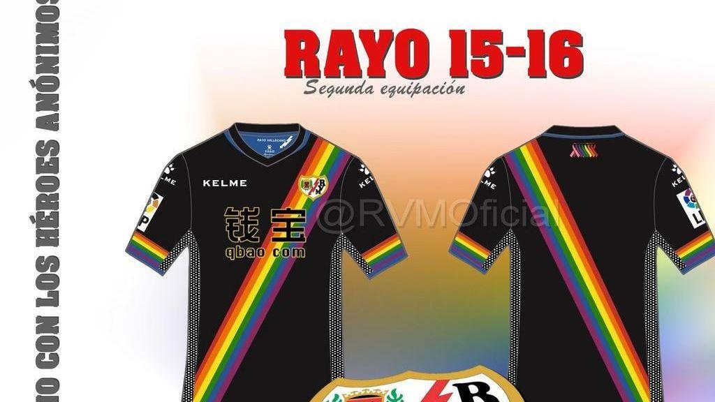 Segunda equipación solidaria del Rayo Vallecano