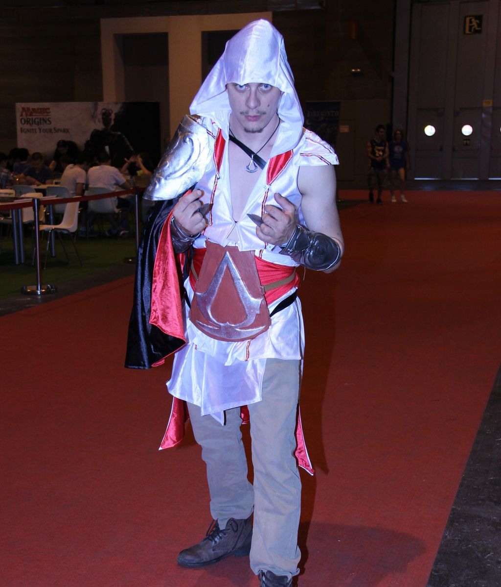 Cosplayers en Gamergy