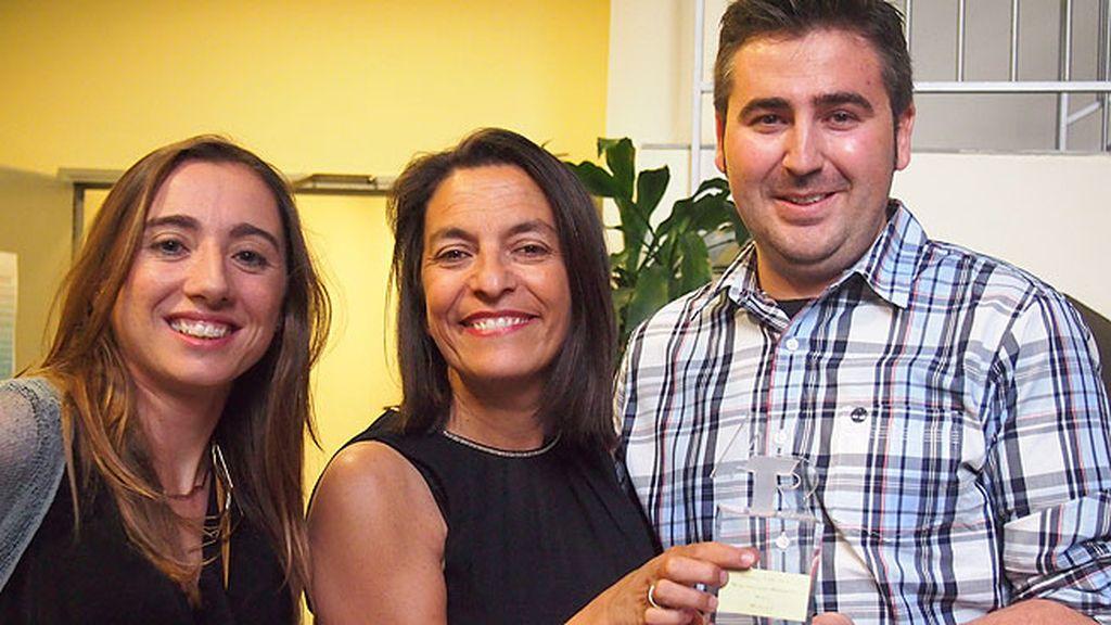 El equipo celebró el premio a 'Mejor Iniciativa Multimedia'