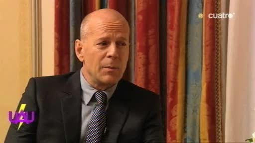 Bruce Willis confiesa que es John McClain... ¿perdona?