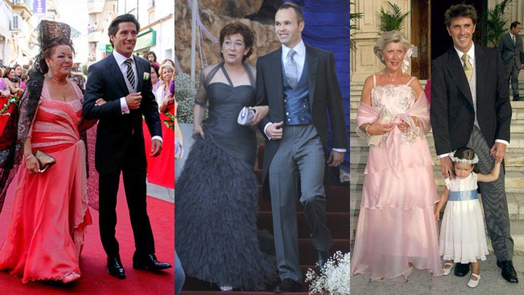 Vestidos de madrina de bodas famosas
