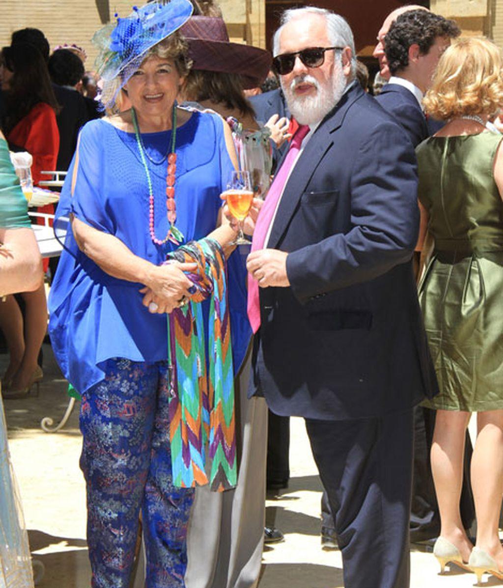 El Ministro de Agricultura, Miguel Arias Cañete, iba de parte del novio