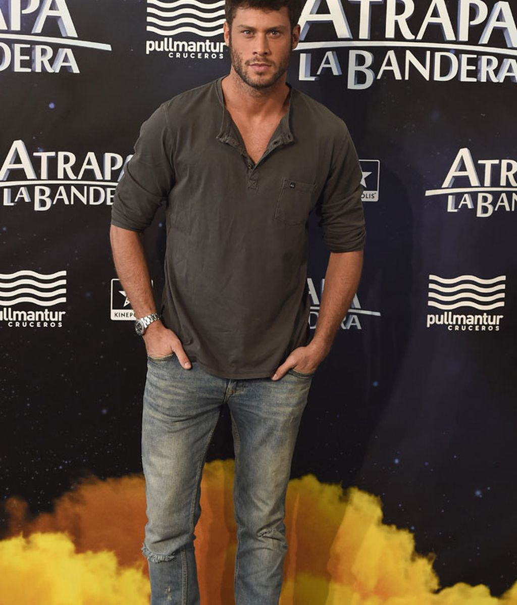 El actor José Lamuño, con look casual