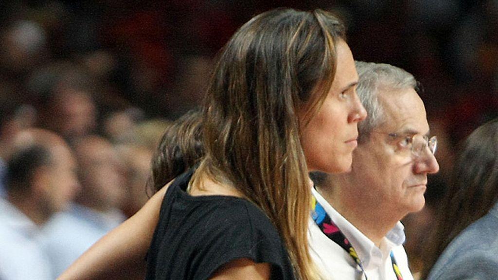 La ex jugadora de baloncesto Amaya Valdemoro no disfrutó de los últimos minutos