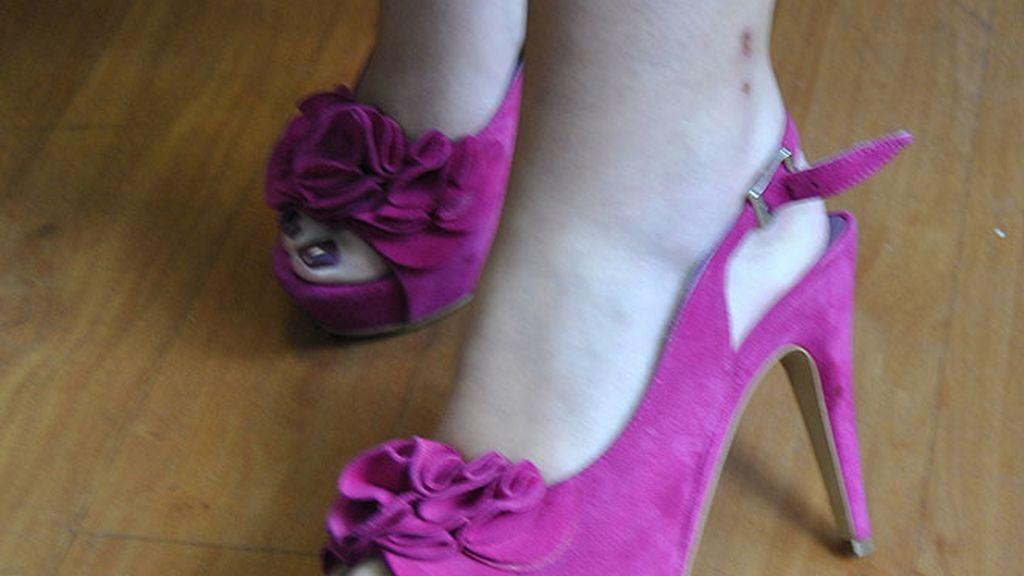Zapato italiano en fucsia