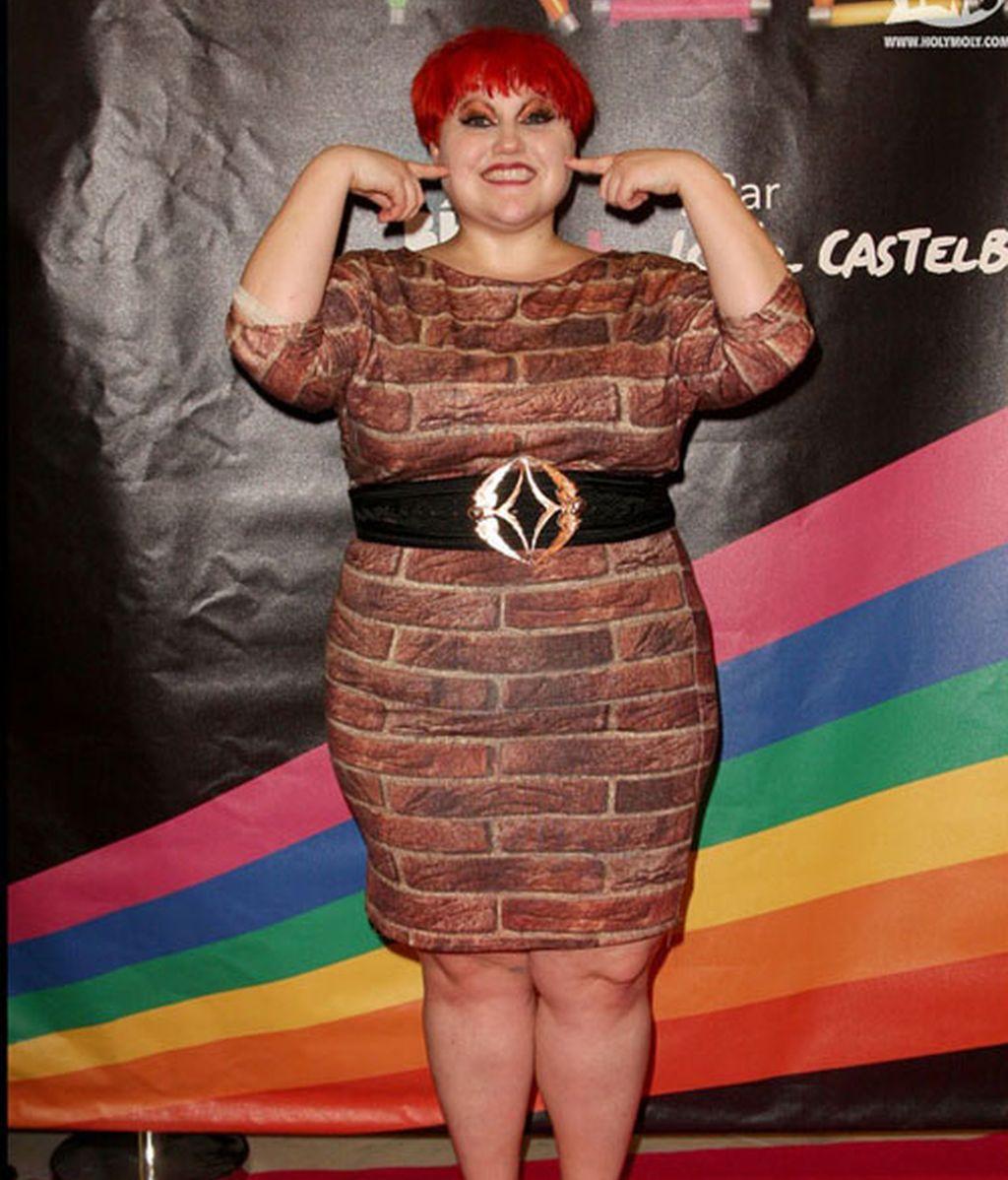 Beth Ditto se viste de pared