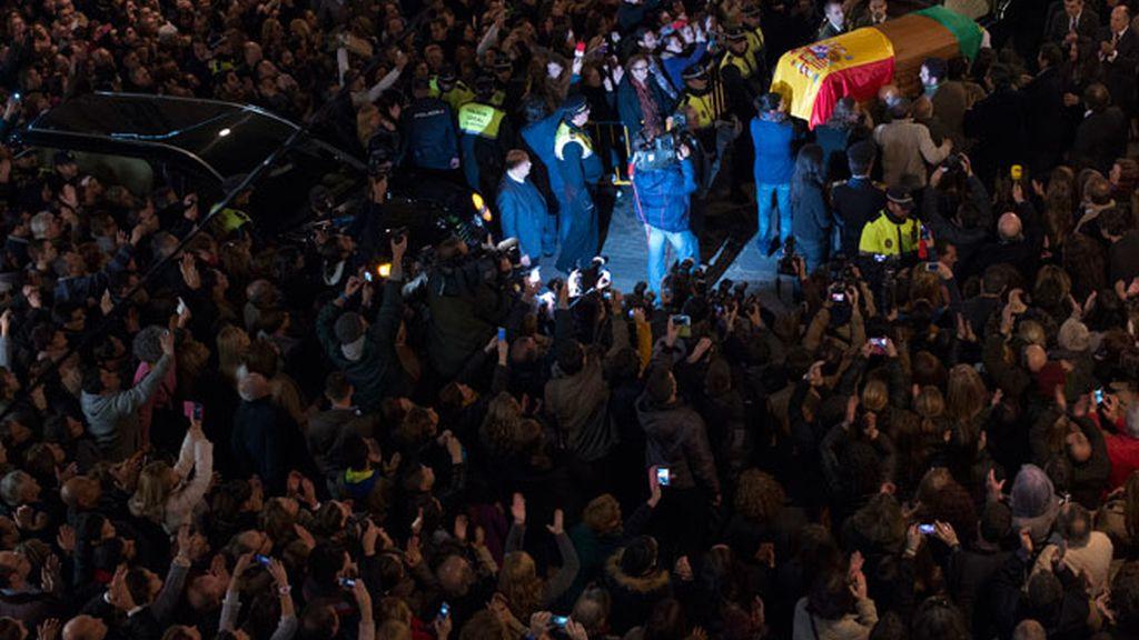 Último adiós a Paco de Lucía en su Algeciras natal