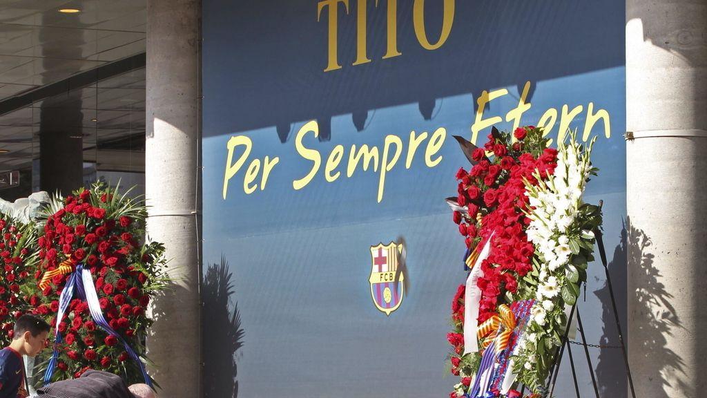 Homenaje a Tito Vilanova