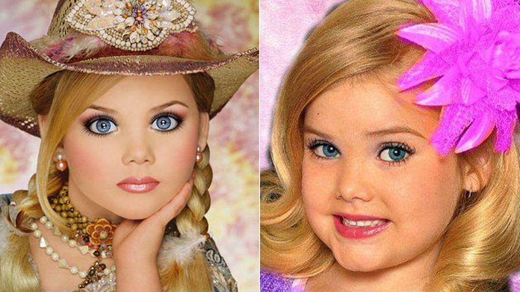 Eden Wood, reina de la belleza infantil con sólo seis años