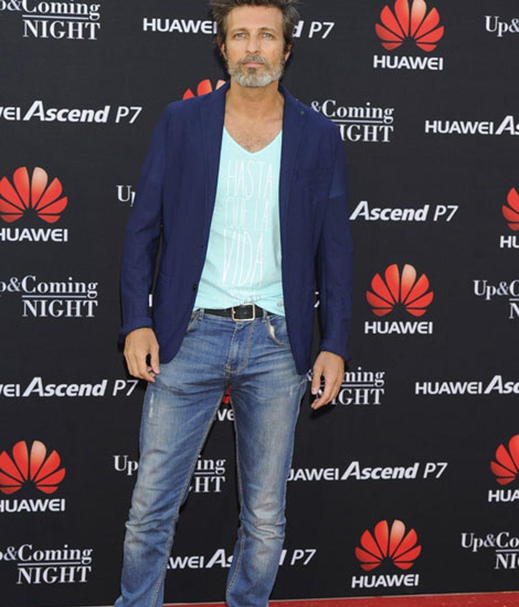 El actor Jesús Olmedo fue uno de los asistentes