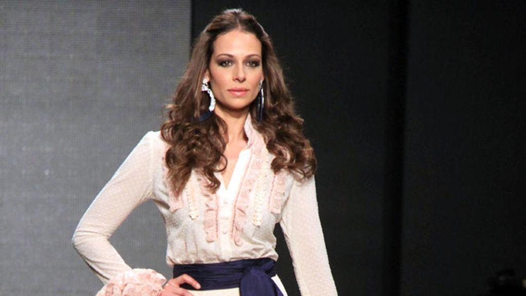 Eva González se pone flamenca