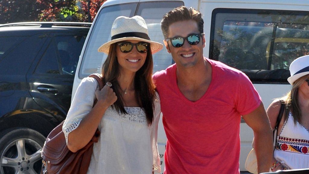 Paula Echevarría y David Bustamante en Ibiza este verano