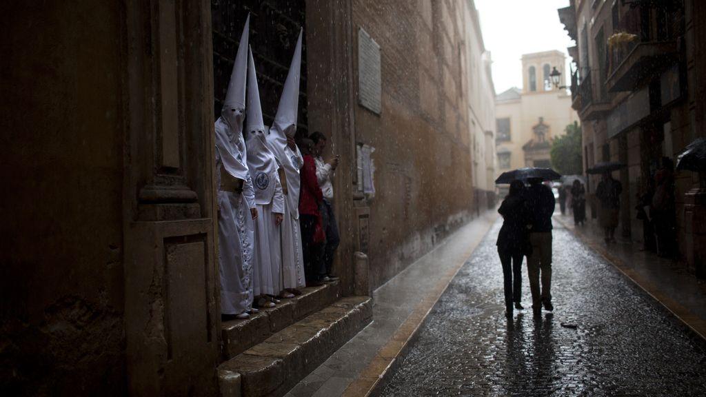 Semana Santa con lluvia