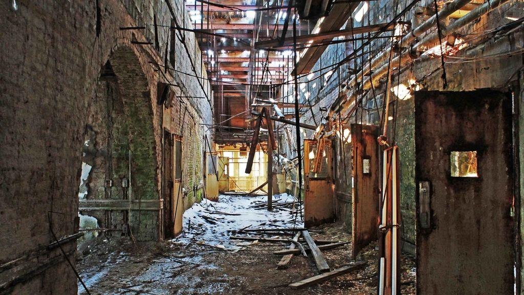 Arquitecturas abandonadas: Asilo en New Jersey