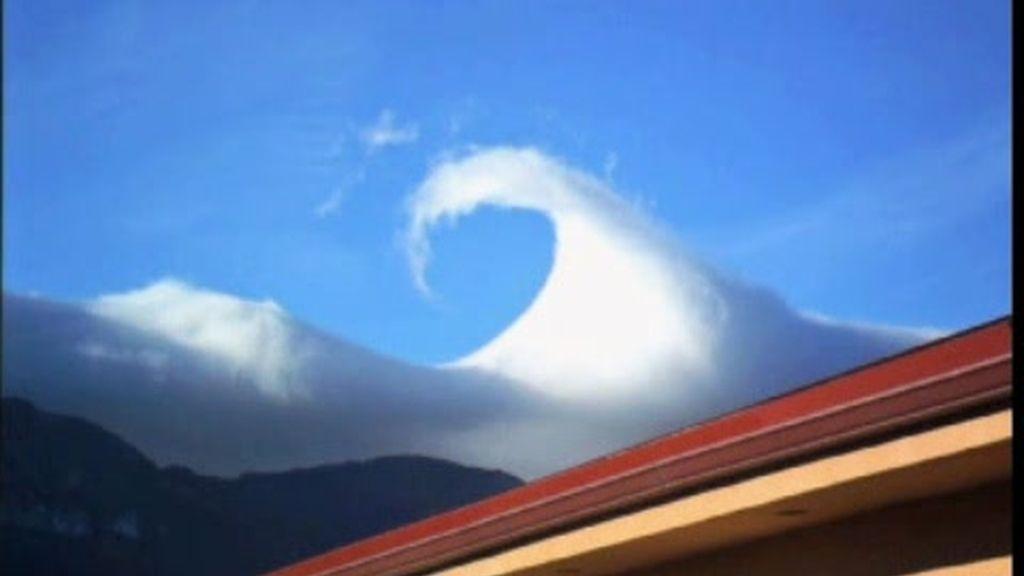 Una nube muy peculiar