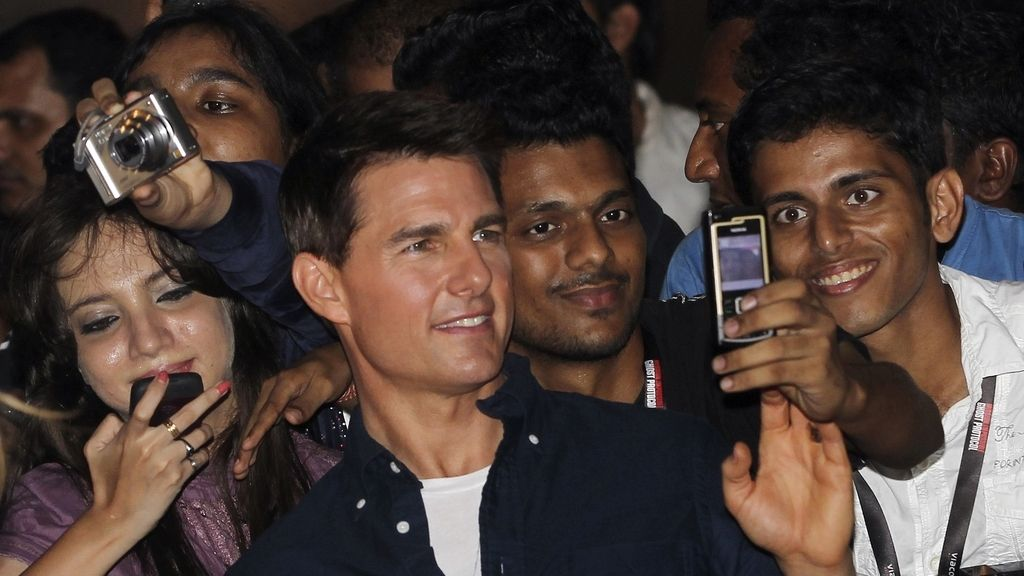 Tom Cruise, en Bombay