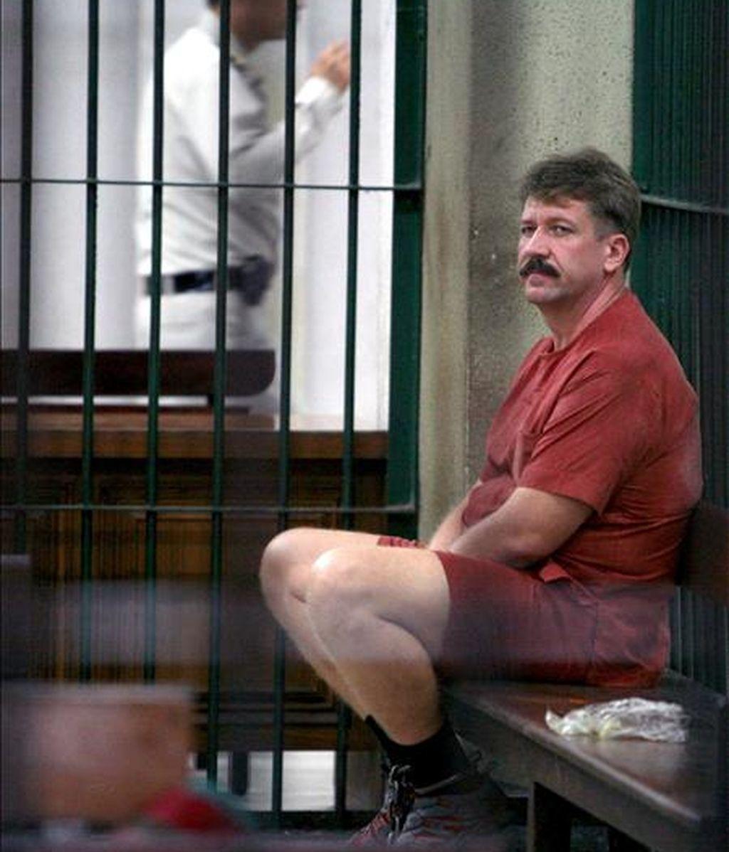 El presunto traficante de armas ruso Víctor But. EFE/Archivo