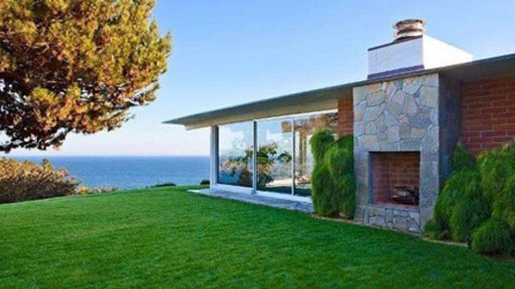 La 'casita' de la playa de Brad Pitt y Angelina