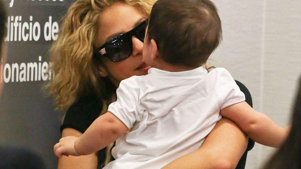 Carantonas para su bebé en el aeropuerto