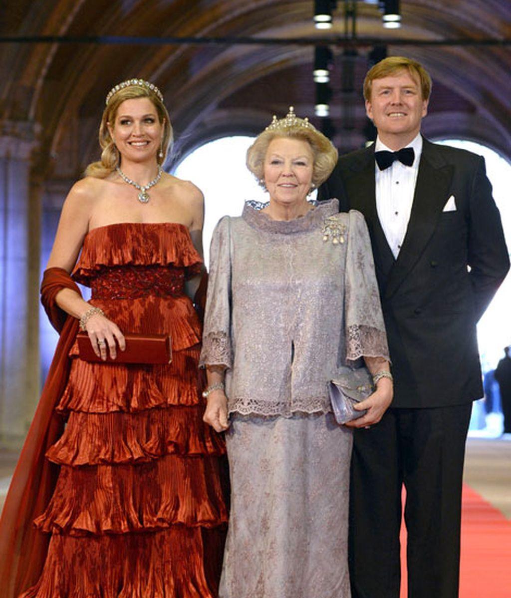 La reina Beatriz