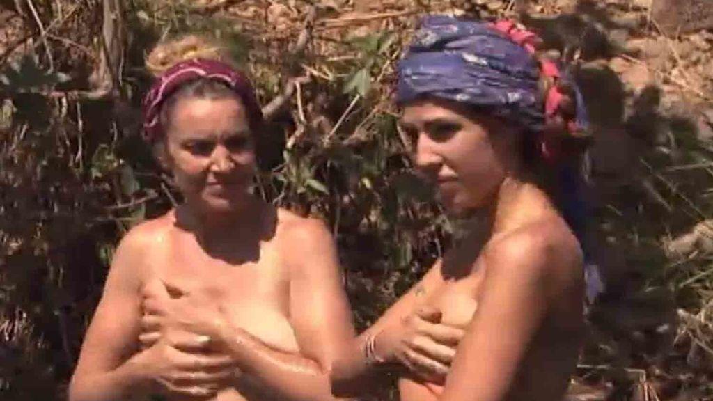 Isa y Chabeli se visten como las Suris
