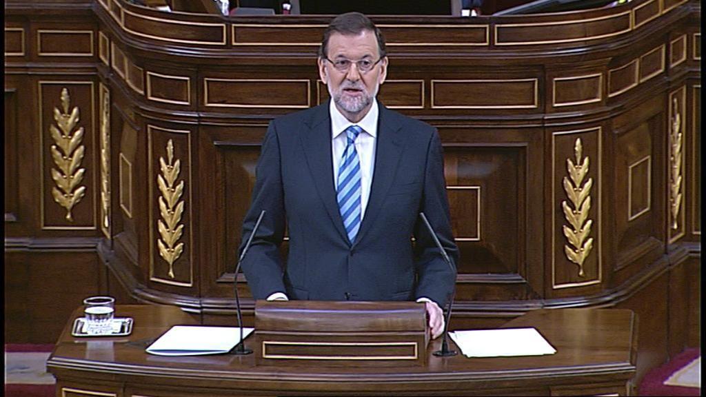 Rajoy muestra su optimismo en el Debate sobre el Estado de la Nación