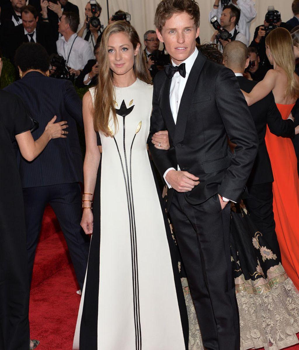 Hannah Bagshawe y su marido el actor Eddie Redmayne