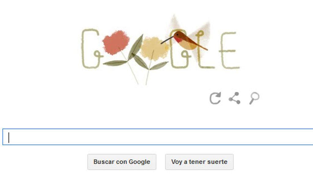 El doodle de Google dedicado al Día de la Tierra