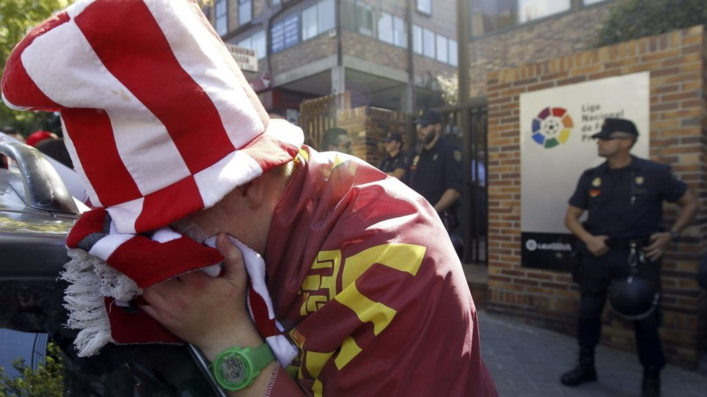 Real Murcia descendido a segunda B