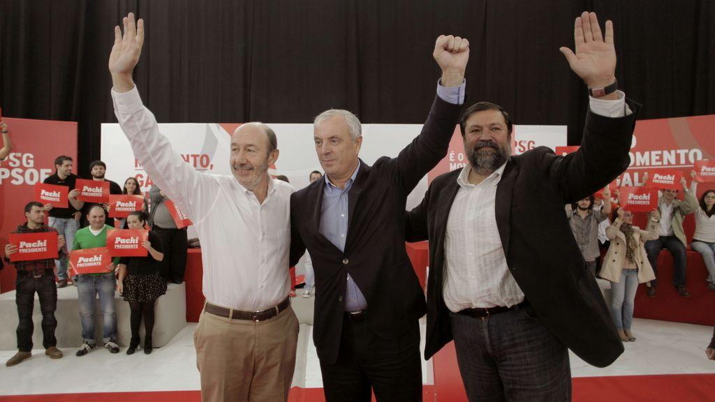 """Pachi Vázquez censura que sea """"un delito devolver el dinero"""" de las preferentes, pero no """"engañar"""" a la gente"""