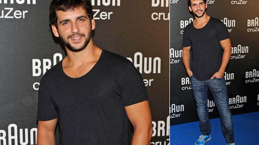 El actor y también cantante Fran Perea