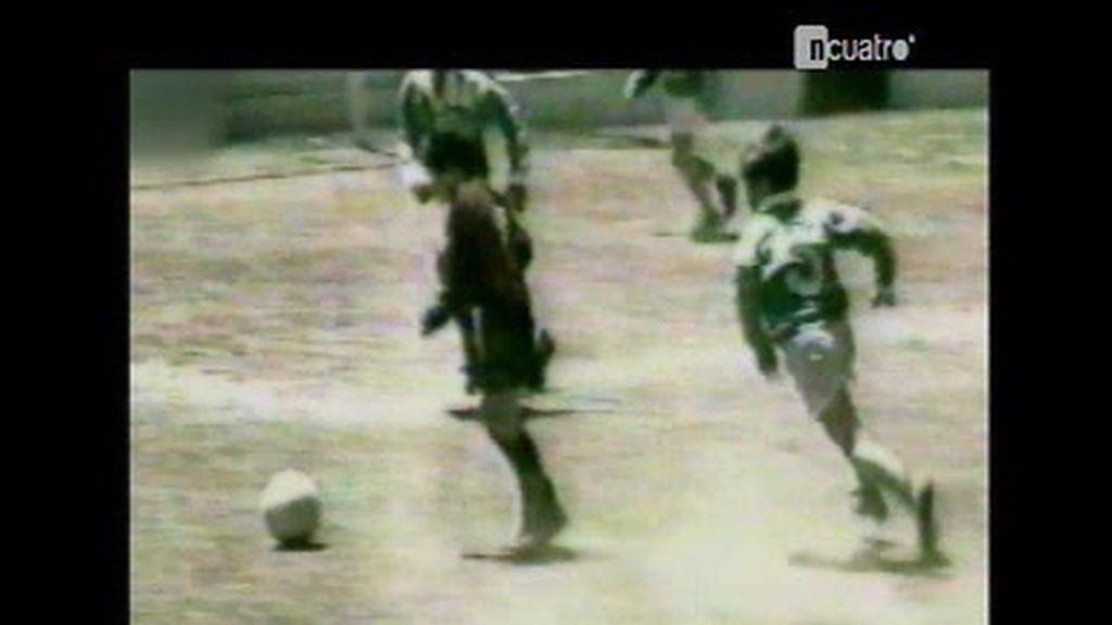 Una visita al pasado de Leo Messi