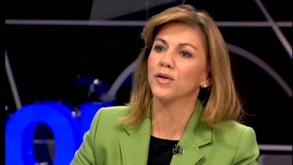 Gabilondo entrevista a Cospedal en 'Hoy'