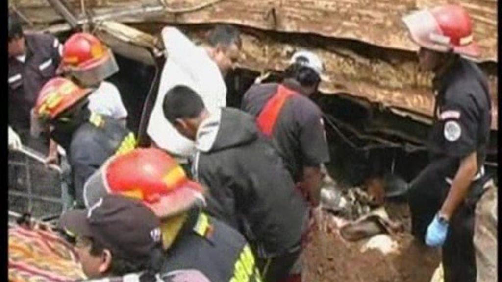 Catástrofe natural en Guatemala