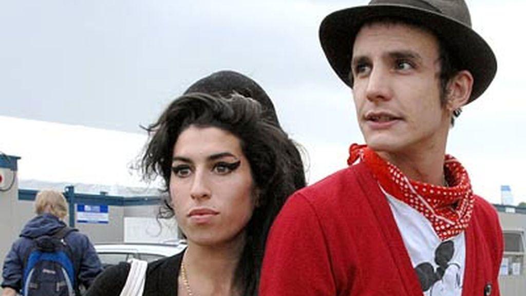 Amy y Blake en una imagen de archivo. Foto: AP
