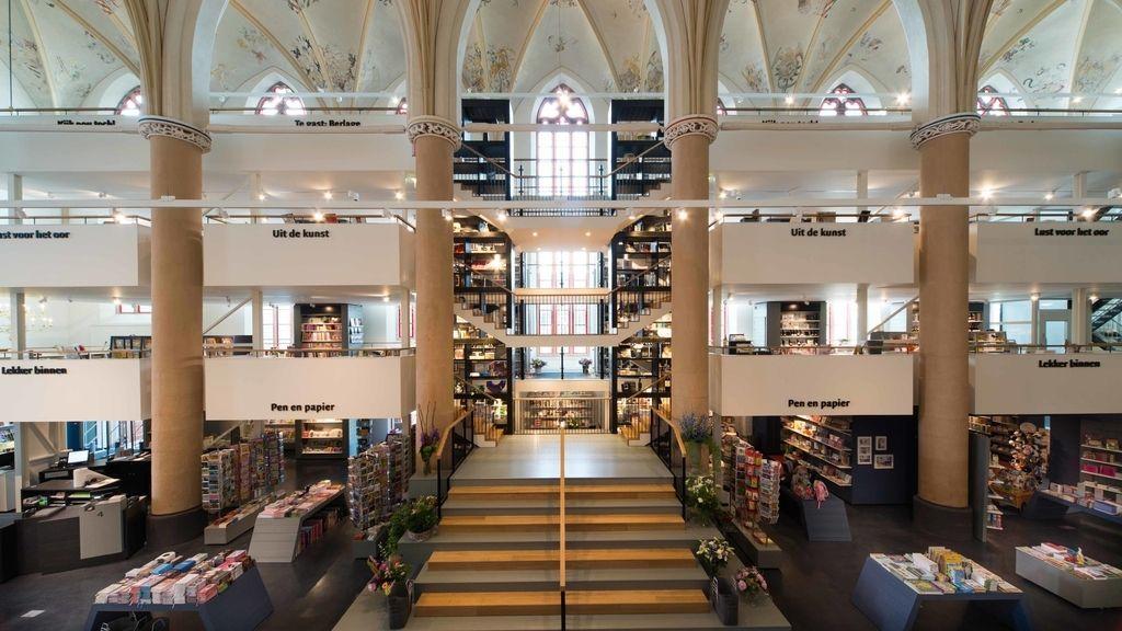 La Iglesia convertida en librería