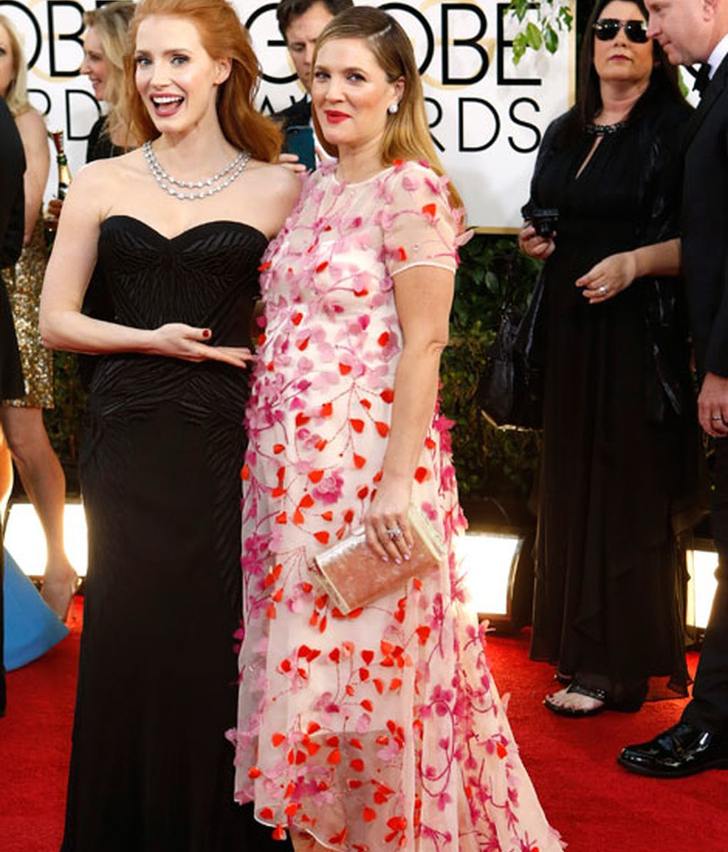 Jessica Chastain y Drew Barrymore