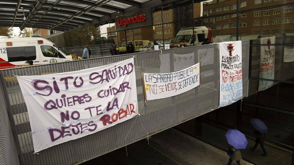 Jornada de huelga en la sanidad pública madrileña