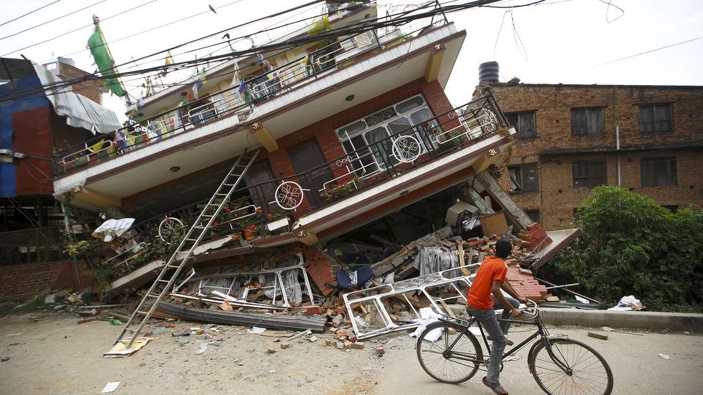Las devastadoras consecuencias del terremoto en Katmandú