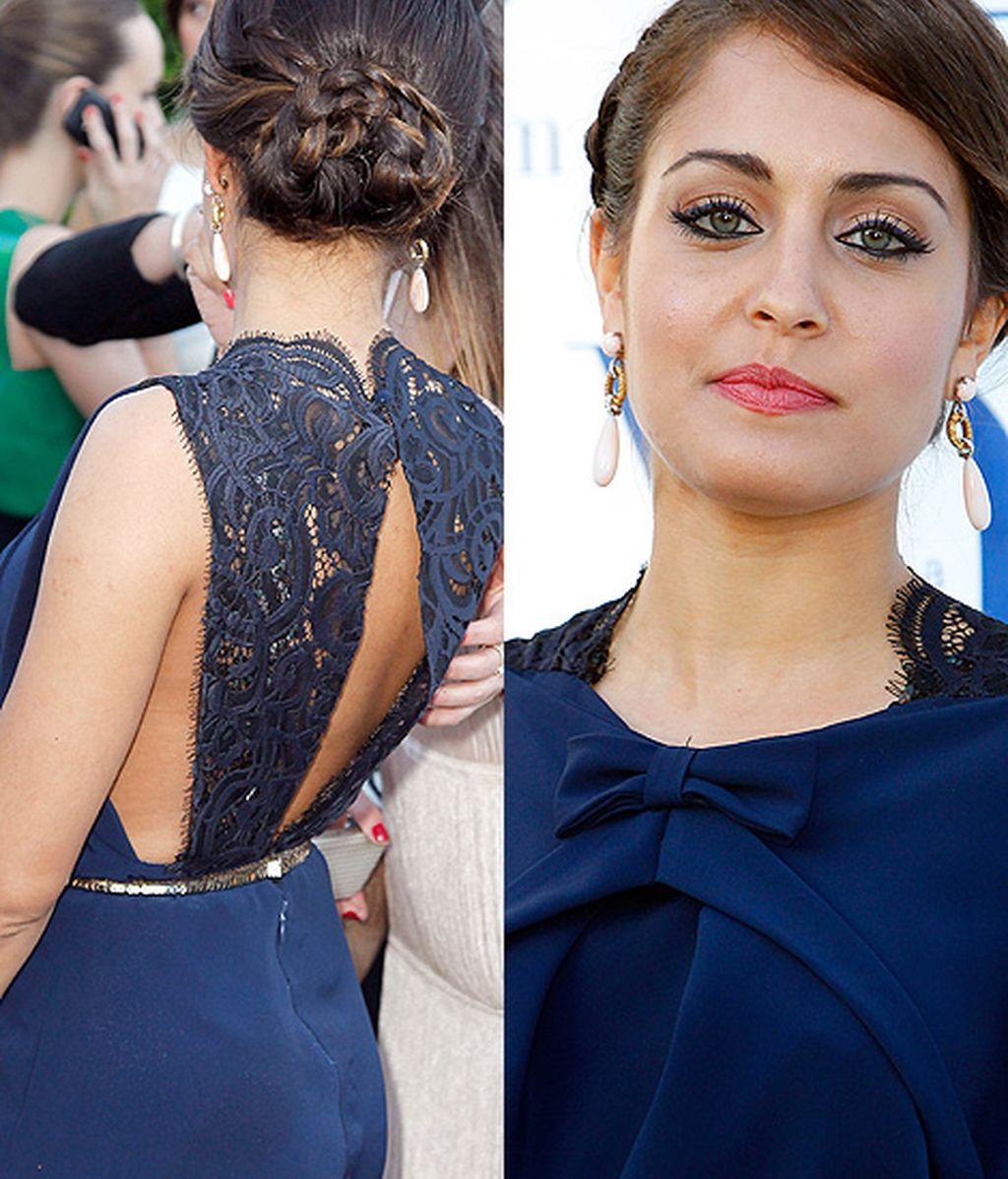 Hiba Abouk, protagonista de 'El Príncipe', se apuntó a la moda de la espalda al aire