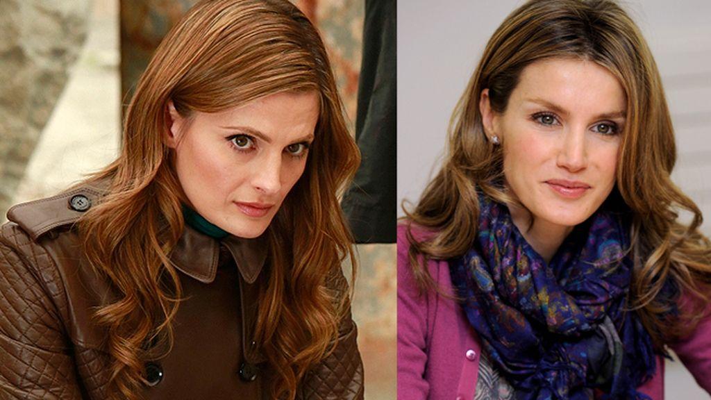 Kate Beckett es la Princesa Letizia